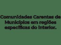 Rede Hiper Solidária - Doações - Comunidades carentes de municipios em regioes especificas do interior