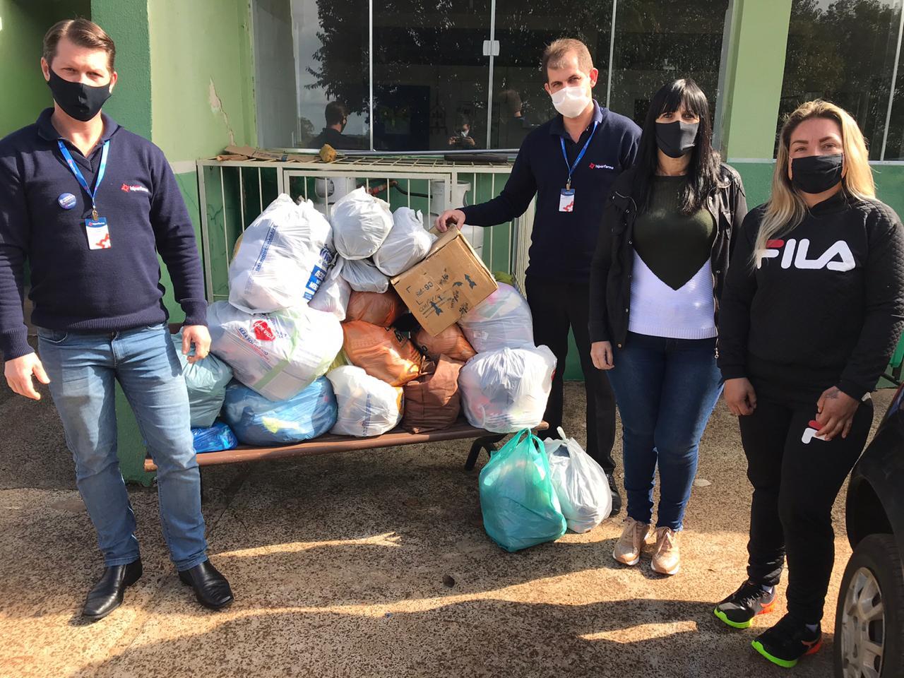 Doações em Pitanga